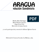 Nicaragua y La Revolucion Sandinista