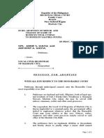 Petition for Adoption V2