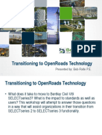 Transitioning to OpenRoads Technology