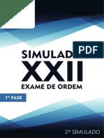 2o Simulado 1a Fase XXII OABdeBolso