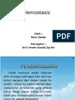 reni zaida-hemostasis.pptx