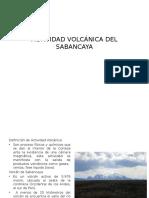 Actividad Volcánica Del Sabancaya
