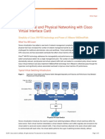 Cisco VM-FEX Virtual NIC