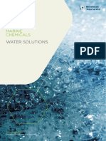 WSS Marine Chemicals Water Solutions Brochure