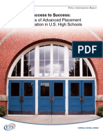 ACCESS to Success Re AP Courses 2008
