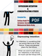 Congratulating Ppt