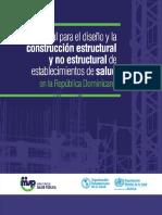 Manual Para El Diseño y La Construcción Estructural y No Estructural de Establecimientos de Salud en R.D