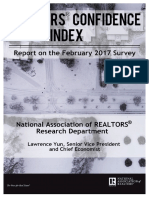 REALTORS® Confidence Index February 2017