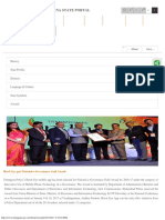 Telangana State Portal Awards