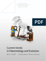 XII EJIP. Conference Proceedings. 2015. Current Trends in Paleontology and Evolution.