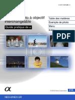 manuel nex 6 FR