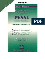 Guía de Estudio- Derecho Penal- Parte General- Enfoque Causalista - PRIMERA SECCION 1 de 2