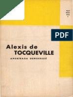 Alexis de Tocqueville - Amerika-da Demokrasi CS - Yenilik Basımevi
