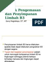 4 - Teknik Pengemasan Limbah B3.ppt
