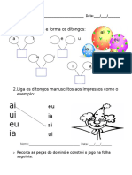Ficha Ditongos