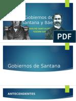 Gobiernos de Santana y Báez