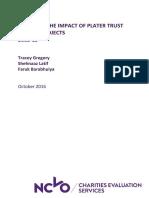 Plater Trust Report