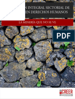Evaluación Integral de Impactos de La Mineria en Colombia