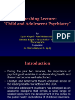 Child and Adolescent Psychiatryu