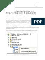 Cursos MS Business Intelligence SSIS_ Programar La Ejecución de Paquetes