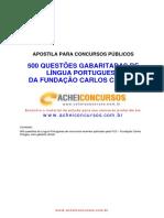500 Questões de Língua Portuguesa FCC com Gabarito.pdf