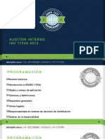Auditor Interno ISO 17024