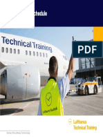 Lufthansa Technical Training Open Courses Schedule as at February 2016