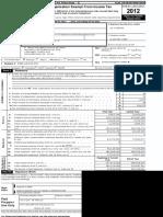 La Salle Form 990 FY 2012