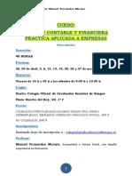 Programa Gestion Contable y Financiera Practica en Empresas CGS