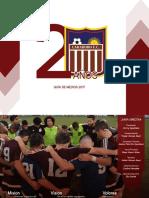 Guía de Medios - Carabobo Fútbol Club 2017