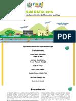 Anuario Estadístico de Tuluá  2015