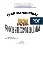 Didactic-ro Plan Managerial 2009 20010
