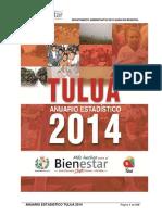 Anuario Estadístico de Tuluá  2014