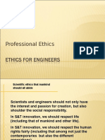 Ethics for Engineer