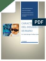 4Conferencia, Texto PDF, Carlos Orellana Ayala, Características Del Desarrollo Humano