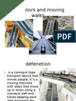 Escalator Seminar Presentation