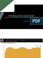 Pending Home Sales Index - 2017-02