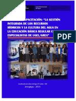Informe Taller de Especialistas Ugel Grea