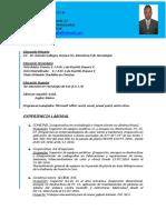 Resumen Curricular Actualizado Jose Antonio Gomez Bucan