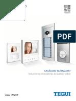 201703 Legrand Tegui Catálogo Videoporteros y Porteros