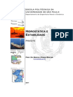Exercicios modelagem - Hidrostatica e Estabilidade 2017