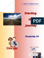 Discipleship 101 - Starting the Journey