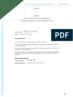 Déclaration de patrimoine - Poutou