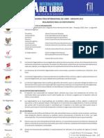 Reglamento FIL Arequipa 2010