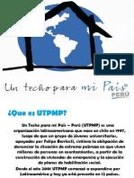 Diapositivas Un Techo Para Mi Pais