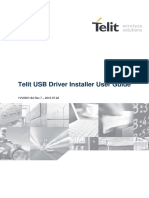 1VV0301164 Telit USB Driver Installer User Guide r7