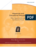Hispanicity and Educational Inequality