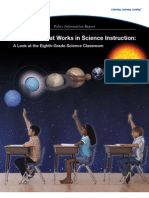 Exploring What Works in Science Instruction