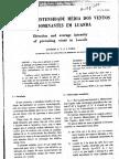 Ventos Predominantes Em Luanda - António Faria (Laboratório de Engenharia de Angola, 1968)