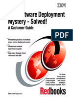 The Software Deployment Mystery - Solved! A Customer Guide by IBM